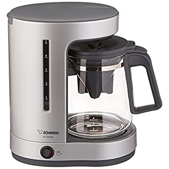 Zojirushi EC-DAC50 Zutto 5-Cup Drip Coffeemaker,Silver