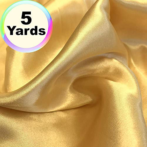 Charmeuse Satin Fabric | 5 Yards Continuous | 60