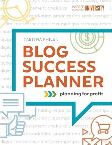 Blog Success Planner: Tabitha Philen: 9781539543343: Amazon.com: Books