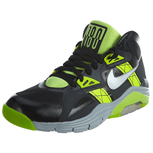 Nike Men's Lunar 180 Trainer Sc Black/White/Anthracite/Volt Training Shoe 10 Men US (Nike Sc Cross Trainer)