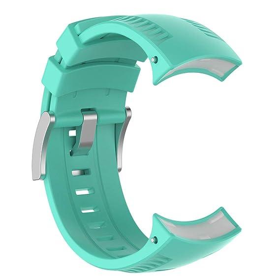 Silikon Ersatz Zubehör Uhr Band Handgelenk Strap Armband Für Suunto 9 Und Suunto Spartan Sport Handgelenk Hr Baro Smartwatch Tragbare Geräte Cleveres Zubehör
