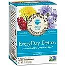 Traditional Medicinals EveryDay Detox Tea, 16 Tea Bags (Pack of 6)