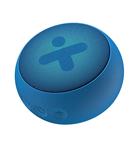 X-mini Kai X1 W – Portable Waterproof Bluetooth Stereo Speaker, Loud Volume, Wireless, Built-in Mic, Lightweight, Mini…