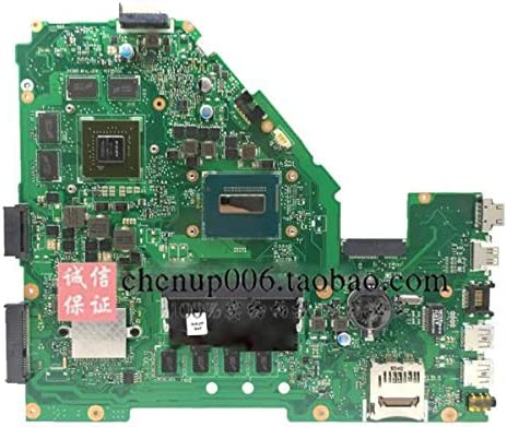 Calvas X55VD Laptop motherboard GT610M 4GB RAM REV2.1//2.2 for ASUS X55V X55VD Test mainboard X55VD motherboard test 100/% ok