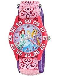 Kids' W001992 Princess Analog Display Analog Quartz Pink Watch