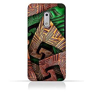 AMC Design Nokia 6 Fractal Art 04 Design Case - Multi Color