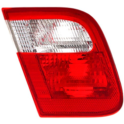 Diften 166-C2257-X01 - New Back Up Light Lamp Driver Left Side Clear red lens 325 323 328 330 LH