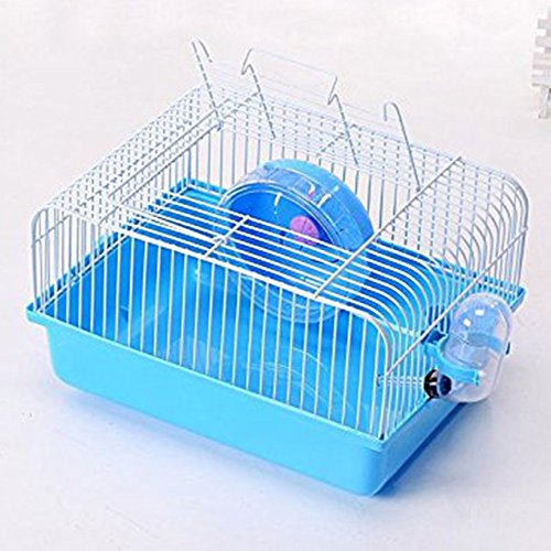 Ocamo Pet Hamster Cage with Running Wheel Water Bottle, used for sale  Delivered anywhere in Canada