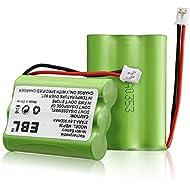 2 Pack EBL TFL3X44AAA900 Motorola Baby Monitor Batteries...