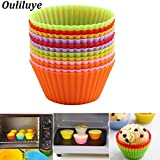 New 12/6/1Pcs Silicone Muffin Cake Cups for Kitchen Baking Tool Baking Cup Forms