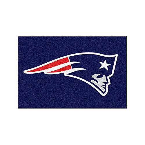 New England Patriots Football Rug - New England Patriots NFL Rookie Bathroom Rug (19x30)