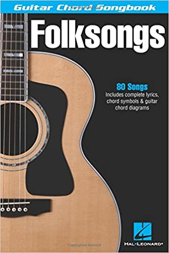 Amazon.com: Folksongs (Guitar Chord Songbooks) (0073999995411): Hal ...