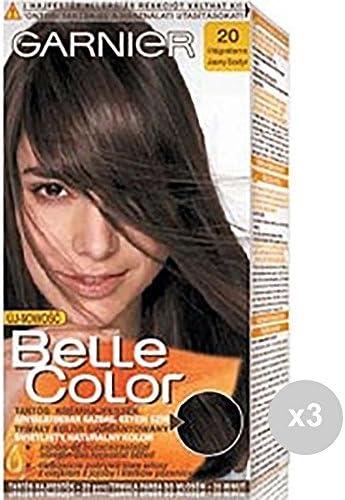 Belle Color Juego de 3 20 castaño Claro Tinte Coloreada para ...