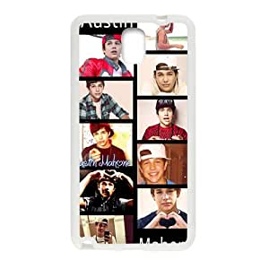 Austin Mahone Cell Phone Case for Samsung Galaxy Note3 by icecream design