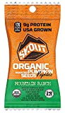 SKOUT BACKCOUNTRY Organic Roasted Pumpkin Seeds – Mountain Ranch – Pepitas With No Shell – Vegan, Low Carb Snacks – Paleo & Keto Foods – Gluten Free -Non-GMO- Kosher – Grown in USA -1.1 oz (10 Count) For Sale
