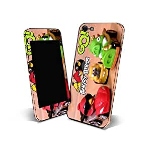 Skin Sticker 3m Cover Phone for Samsung Galaxy Core Protection Skin Design Angry Birds Go NAG06