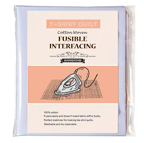T-Shirt Quit Project Fusible Interfacing, White (44