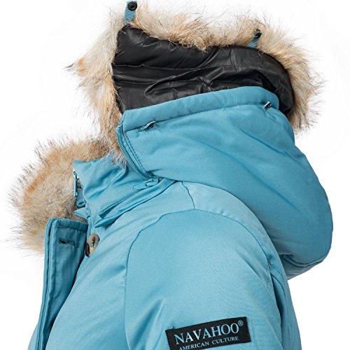 XS pour Bleu Parka Couleurs Dame Navahoo 11 XXL Veste d'hiver Schneeengel Clair w8qpxSO4