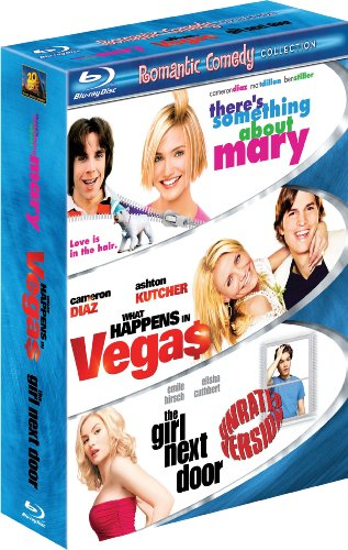 Romantic Comedy Three-Pack (There's Something About Mary / What Happens in Vegas / The Girl Next Door) [Blu-ray]