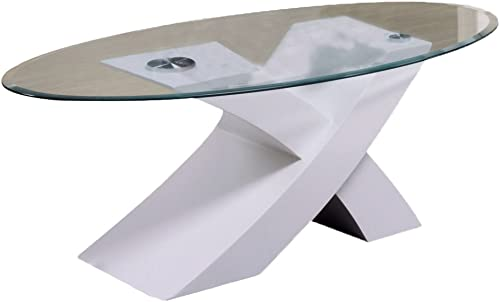 ACME Pervis White Coffee Table