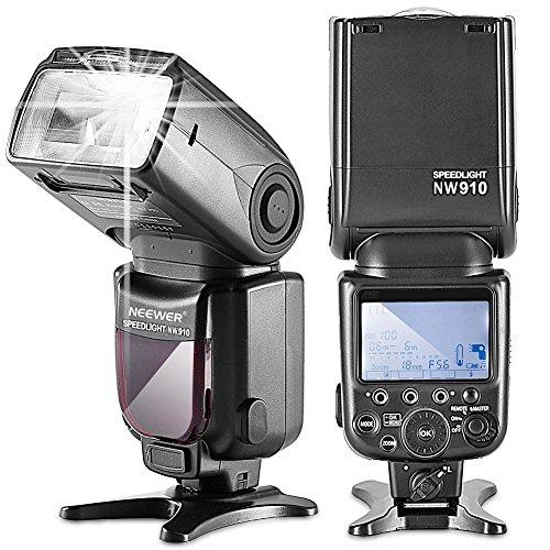 Neewer NW910/MK910 i-TTL 1/8000s HSS LCD Display Speedlite Master/Slave Flash for Nikon D60 D70 D70S D80 D80S D300S D700 D3000 D3100 D5000 D5100 D7000 D7100 D7200 and Other Nikon DSLR Camerasの商品画像