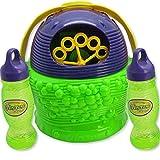 Babrit Bubble Machine Automatic Battery Powered Large Party Bubble Machine(Extra bonus bubble solution)-Updated Version