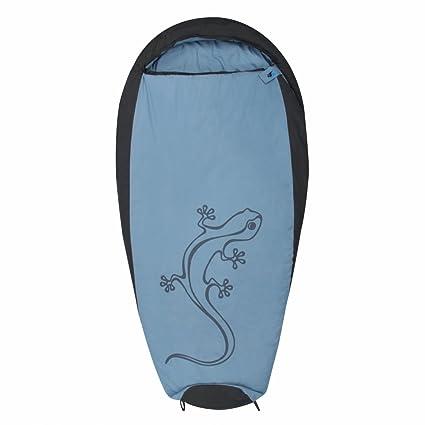10T Outdoor Equipment 10T Gecko Saco de Dormir de la Momia de los niños, Azul