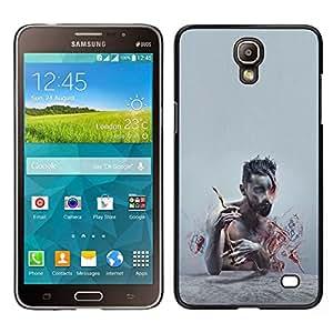 Caucho caso de Shell duro de la cubierta de accesorios de protección BY RAYDREAMMM - Samsung Galaxy Mega 2 - Patrón Puma Rosa Piel animal