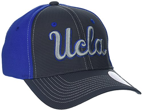 Ucla Team Colors (NCAA UCLA Bruins Adult Men Grid Cap, X-Large, Gray/Team Color)