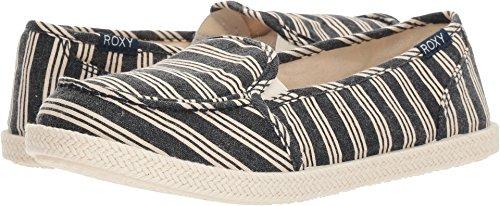 Roxy Dames Lido Touw Slip Op Schoen Sneaker Navy Stripe