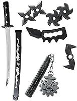 RIESIGES Ninja Waffen Set Schwert Messer u.v.m. FÜR KINDER