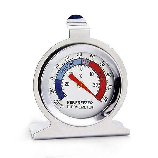 Compra Mcottage Nevera Congelador Termómetro Acero Inoxidable Tipo ...