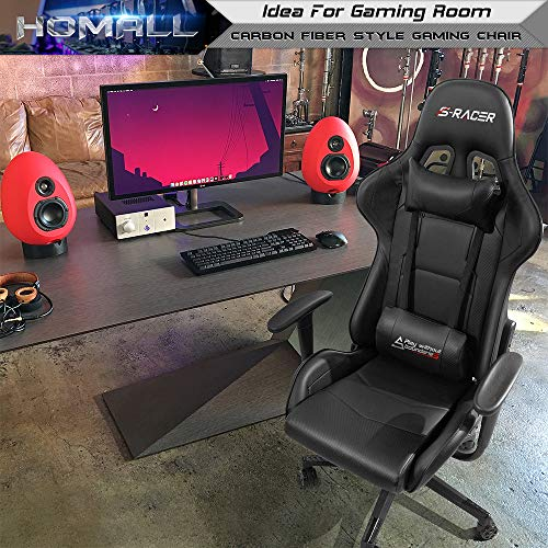 Homall Gaming Chair Racing Office Chair Leather Computer