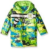 Wippette Baby Boys' Camo with Chopper Rainwear, Gecko, 24 Months