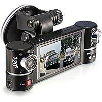 Car Camera DVR Video Recorder 1280X480 Dual Lens Driving F600