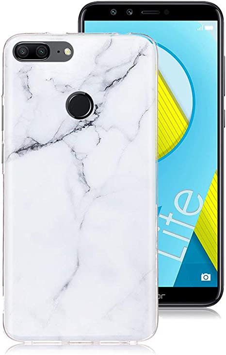 XTCASE Funda Huawei Honor 9 Lite Mármol, Ultrafina Suave TPU ...