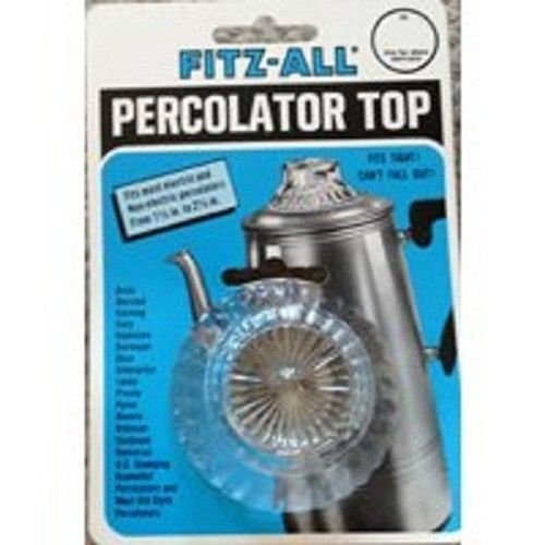 Glass Percolator Top (New Tops Fitz-all 246 1 1/2