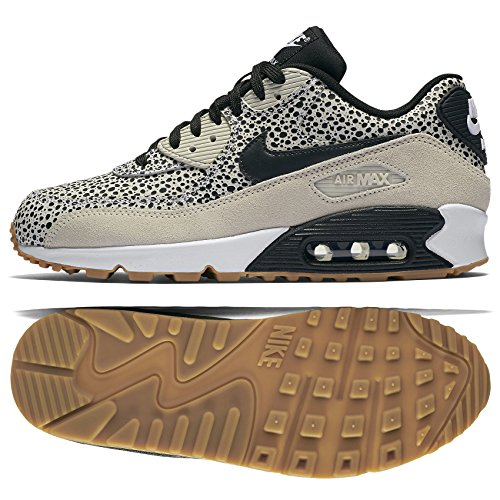 NIKE WMNS Air Max 90 Premium Safari 443817 102 WhiteBlack