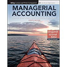 Managerial Accounting + Wileyplus Access Card: Tools for Business Decision Making