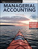 img - for Managerial Accounting: Tools for Business Decision Making, 8e WileyPLUS + Loose-leaf book / textbook / text book