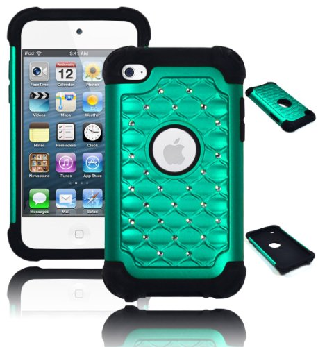 Bastex Crystal Diamond Bling Hybrid Armor Case for Apple ...