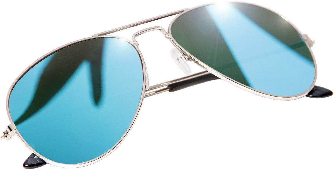 retro lunette de soleil V-705 lunette mirroir police aviateur