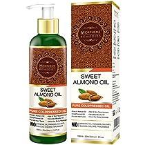 Morpheme Pure Coldpressed Sweet Almond Oil 120 ml
