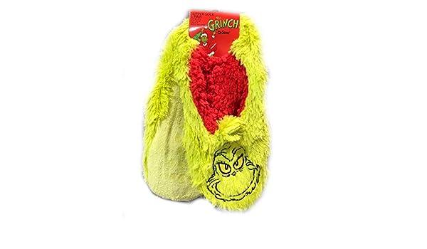 The Grinch Slipper - Calcetines, Pattern 1, UK 6-8 EU 39-42: Amazon.es: Hogar