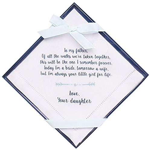 Father of the Bride Handkerchief Style 999DB2061, Navy (Father Of The Bride Handkerchief)
