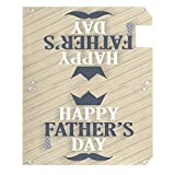 Wamika Father's Day Decorations Mailbox Cover Tie
