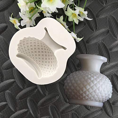 1 piece New Lingge Pattern Flower Pots Vase Water Bottles Kettle Fudge Cake Mould Cake Decorating Tools Chocolate - Fudge Kettle