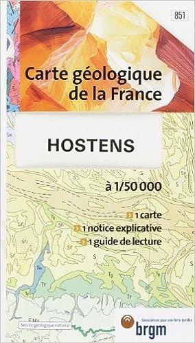 En ligne téléchargement Carte géologique : Hostens pdf, epub ebook