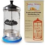 Shaving Factory Professional-Grade Disinfecting Jar (Medium)