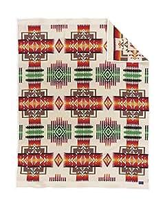 Pendleton Chief Joseph Wool Blanket, Twin, Ivory